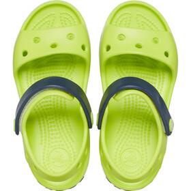 Crocs Crocband Sandalias Niños, lime punch